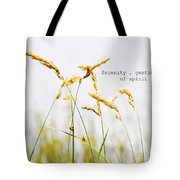 Beach Grass .serenity. Tote Bag