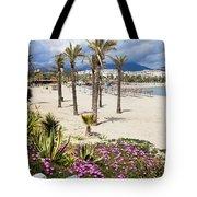 Beach In Puerto Banus Tote Bag