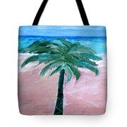 Beach Palm Tote Bag