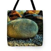 Beach Rocks Tote Bag