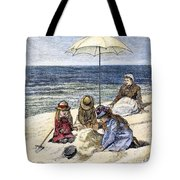 Beach Scene, 1879 Tote Bag