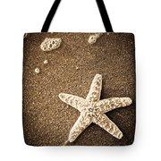 Beach Star Tote Bag