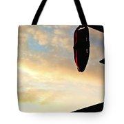 West Coast Beach Sunset Tote Bag