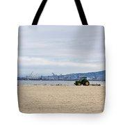 Beach Sweep Tote Bag