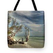 Beach Tree Tote Bag