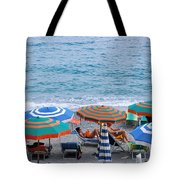 Beach Umbrellas 2 Tote Bag