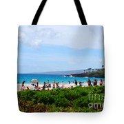 Beach Umbrellas Tote Bag