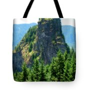 Beacon Rock Tote Bag