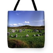 Beaghmore Stone Circles, Co. Tyrone Tote Bag by The Irish Image Collection