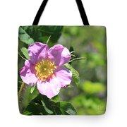 Beaming Wild Rose Tote Bag