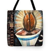 Bean Coffee Languages Poster Tote Bag