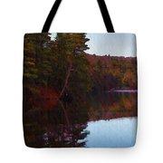 Bear Creek Lake In The Poconos Tote Bag
