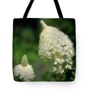 Bear Grass Blooms Tote Bag