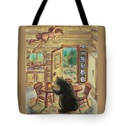 Bear In The Kitchen - Dream Series 7 Tote Bag