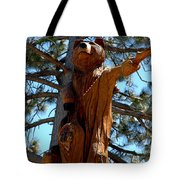 Bear Look Out Tote Bag