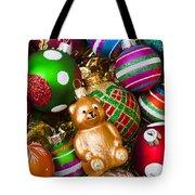 Bear Ornament Tote Bag