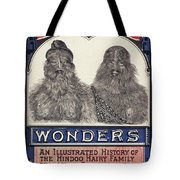 Bearded Family, 1887 Tote Bag