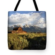 Beautiful Barn Grand Teton  Tote Bag