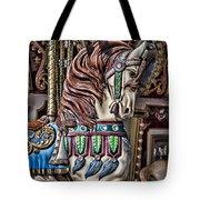Beautiful Carousel Horse Tote Bag
