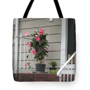 Beautiful Floral Entrance Tote Bag