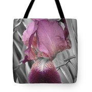 beautiful Iris Tote Bag