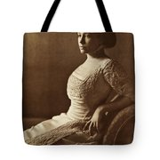 Beautiful Lady In 1880 Tote Bag