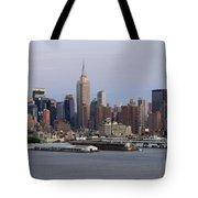 Beautiful Light On New York City Tote Bag