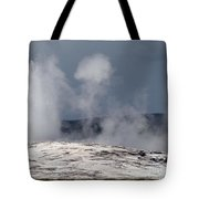 Beautiful Old Faithful Tote Bag
