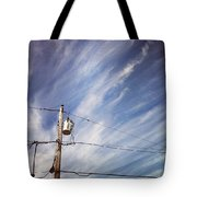 Beautiful Sky This Morning Tote Bag by Katie Cupcakes