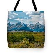 Beautiful Tetons Tote Bag