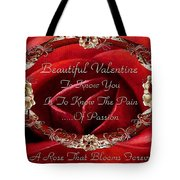 Beautiful Valentine Tote Bag