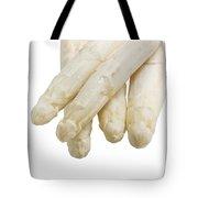 Beautiful White Jumbo Asparagus Close Up Shoot  Tote Bag