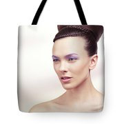 Beautiful Young Woman Portrait Tote Bag