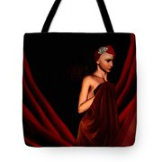 Beautifully Red Tote Bag