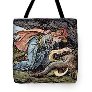 Beauty & The Beast, 1891 Tote Bag