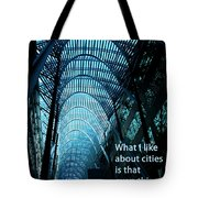 Beauty And Ugly Tote Bag