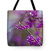 Beauty Berry Explosion Tote Bag
