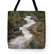Beauty Creek, Banff National Park Tote Bag