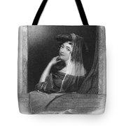 Beauty In Gondola, 1842 Tote Bag