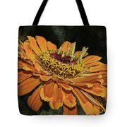 Beauty In Orange Petals Tote Bag