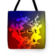 Beauty In The Neon Light Tote Bag