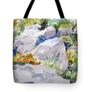 Beauty In The Rocks Tote Bag