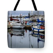 Beauty Of Boats Tote Bag