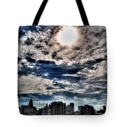 Beauty Of The Morning Sky Tote Bag