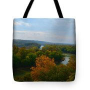 Beauty On The Bluffs Autumn Colors Tote Bag