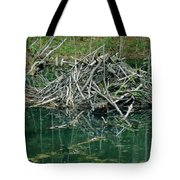 Beaver House Tote Bag