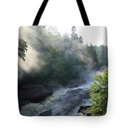 Beaver River Fog4 Tote Bag