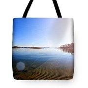 Beavers Bend State Park-lake- Oklahoma Panorama Tote Bag