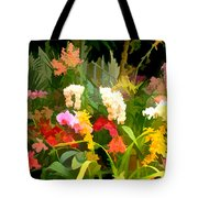 Bed Of Orchids Tote Bag
