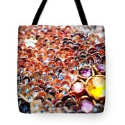 Bed Of Sequins Tote Bag